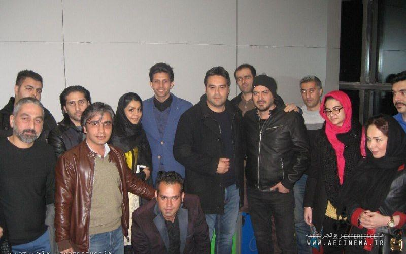 """Special Screening of """"I'm Nasser Hejazi"""" with the footballers and film makers"""