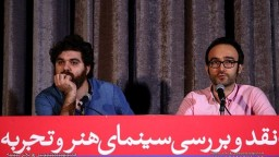 "Farshbaf: I have problem with outspoken and straight story/Moqaddasian: Movie ""Bahman"" is not a familiar sample in cinema."