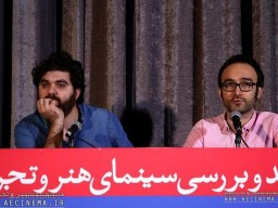 """Farshbaf: I have problem with outspoken and straight story/Moqaddasian: Movie """"Bahman"""" is not a familiar sample in cinema."""