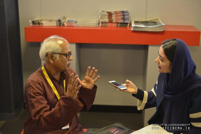 An Interview with Dr. Nirmal Chandra Dhar, Indian Critic at the IFM FIFF is a Great Opportunity to See More of Humanistic Aspects in the Cinema