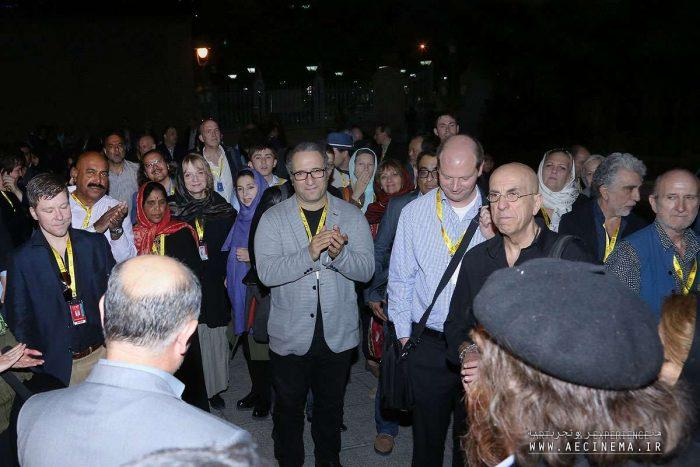 The FIFF International Guests Sightseeing: A Walk around Old Tehran