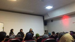 Claire Dobbin at Workshop The Iranian Cinema Not Infected in the Way the American Cinema Has