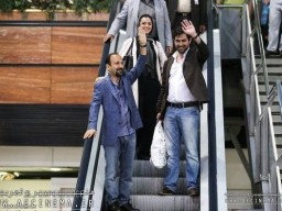 """""""The Salesman"""" director, stars receive warm welcome at home"""
