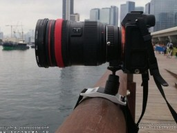 Turn Any Railing into a Tripod with This Pocket-Sized Camera Strap