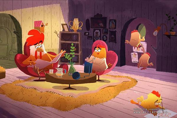 Iranian animators taking undying conflict between roosters and foxes to screen