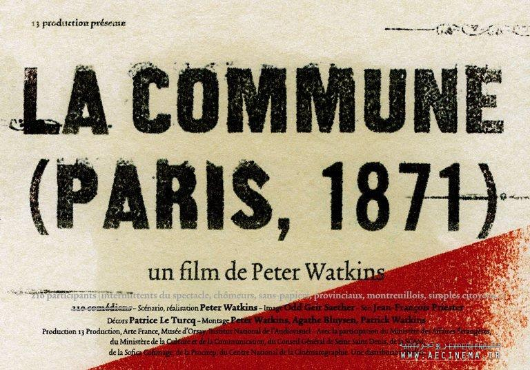 "Tehran museum to review Peter Watkins's ""La Commune"""