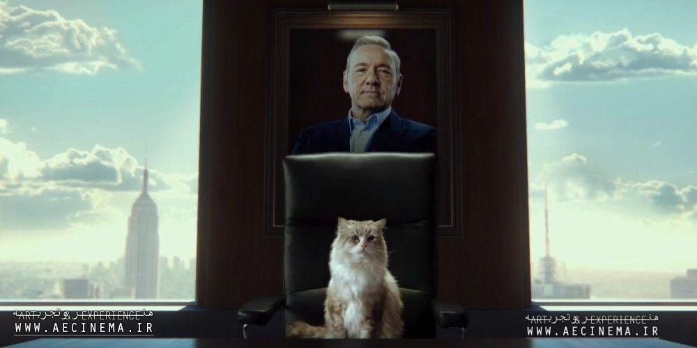 Kevin Spacey Is Transformed Into A Cat In This Neutered Family Comedy From Hell