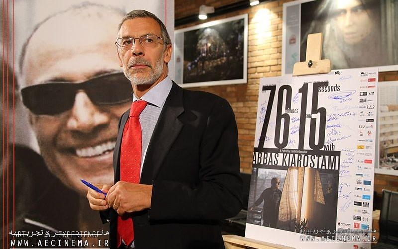 """Screening of """"76 Minutes and 15 Seconds with Abbas Kiarostami"""" for Foreign Embassies"""