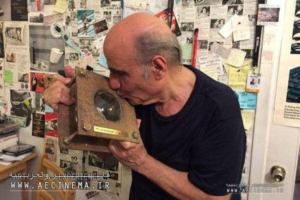 Amir Naderi honored during the 8th Independent Short Film Festival