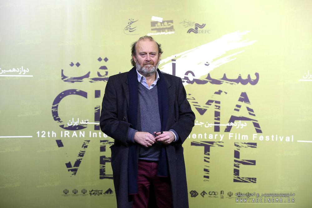 Italian documentarian Gianfranco Pannone admires Iranian cinema