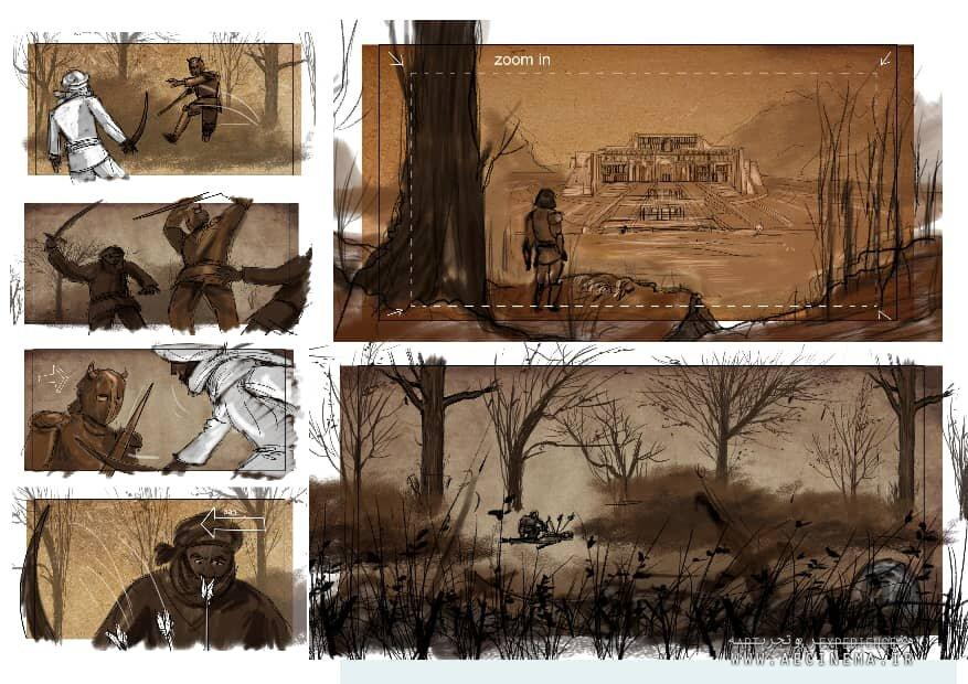 DEFC producing animation on preservation of Iranian historical sites