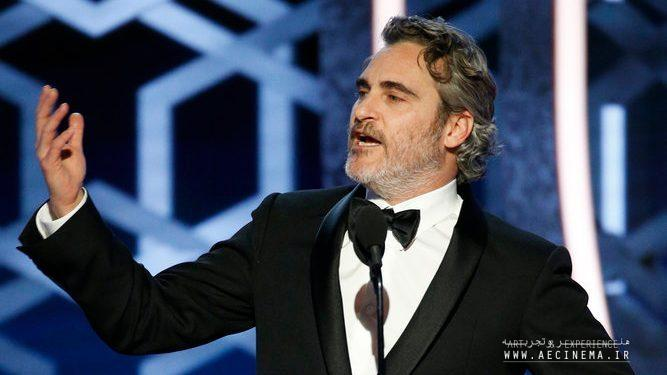 Joaquin Phoenix Made the Golden Globes Go Vegan