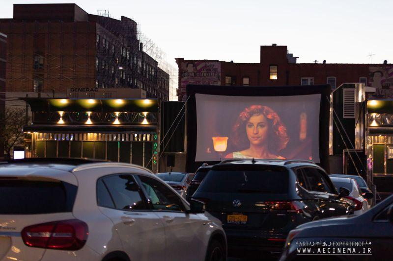 New York City Diner Turns Into Makeshift Drive-In Theater to Help Business Survive