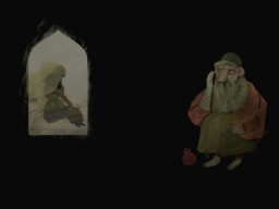 """Animation """"Wet Mirror"""" produced based on Attar's story of Sheikh Sanan"""