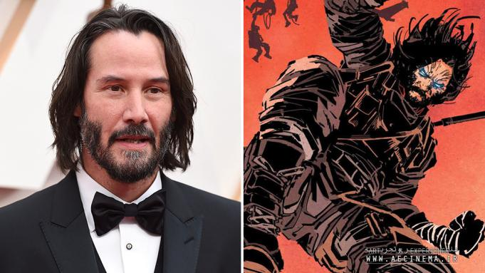 Keanu Reeves to Star in and Produce 'Brzrkr' Live-Action Film and Anime Series for Netflix