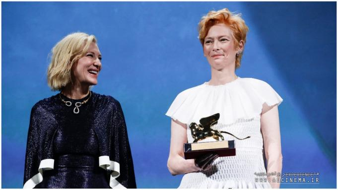 Tilda Swinton Accepts Venice Golden Lion With Love Letter to Cinema, Ends With 'Wakanda Forever'