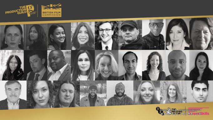 Production Guild of Great Britain, British Film Commission Reveal Inaugural Diversity and Inclusion Mentor Scheme Participants